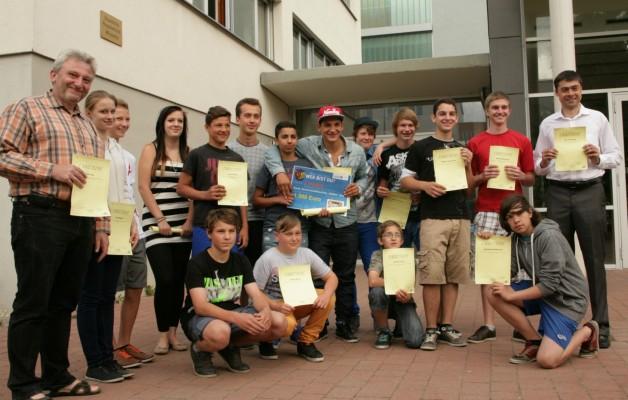 Galileo-Schüler holen Preis beim Integrationswettbewerb