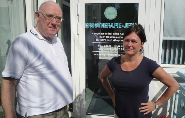 Ergotherapie-Jena in Winzerla feiert am 30.08.13 zehnjähriges Bestehen