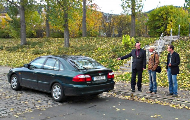 Rundgang mit dem Kommunal Service Jena (KSJ)