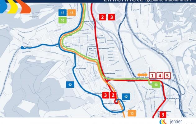 Umsetzung des Nahverkehrsplanes für die Linien 3 und 12 verzögert sich