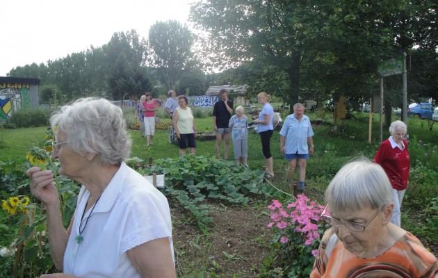 Stadtteilgarten auch für ältere Bürger