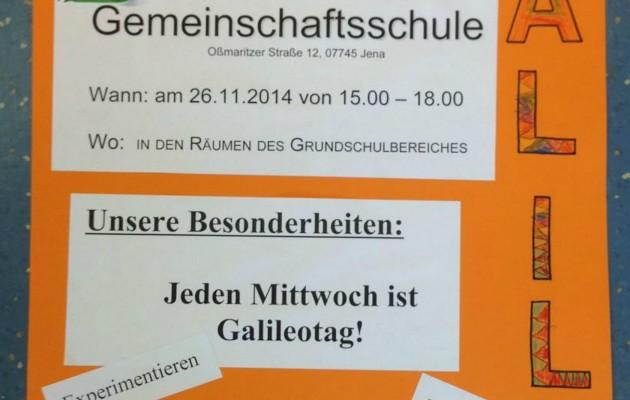 Tag der offenen Tür in der Galileoschule