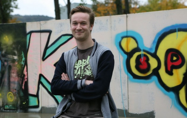 Tom Taeger – neuer Streetworker für Winzerla
