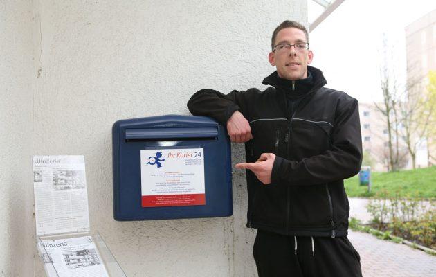 """Unternehmer Christian Funke stellt seinen """"Kurier 24"""" vor"""