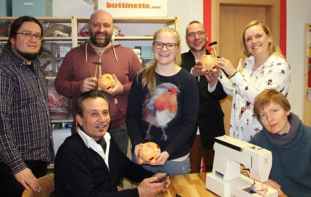 Stadtwerke-Mitarbeiter spenden für drei gute Zwecke in Winzerla