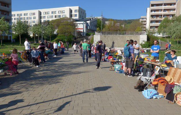 8. Tausch- und Trödelmarkt am 25.05. in Winzerla