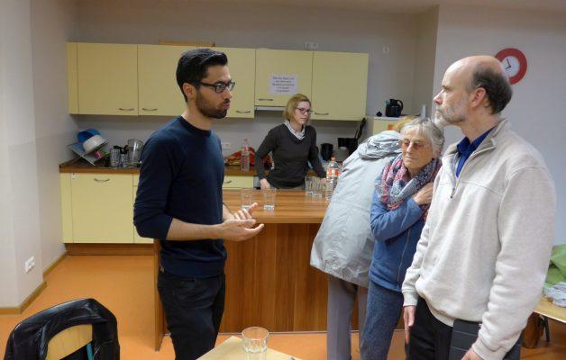Jalil Basmaz im Erzählcafé: Von Qamischli nach Jena