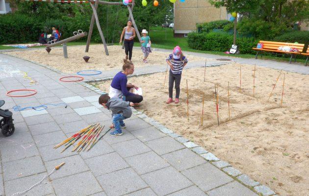 Spielplatzfest in Winzerla-Nord