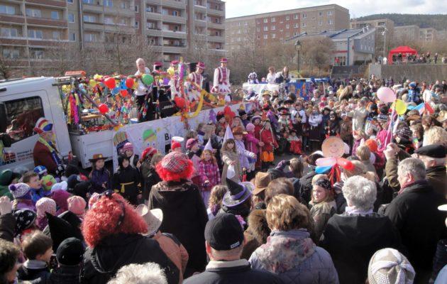 Rosenmontag und närrisches Treiben in Winzerla