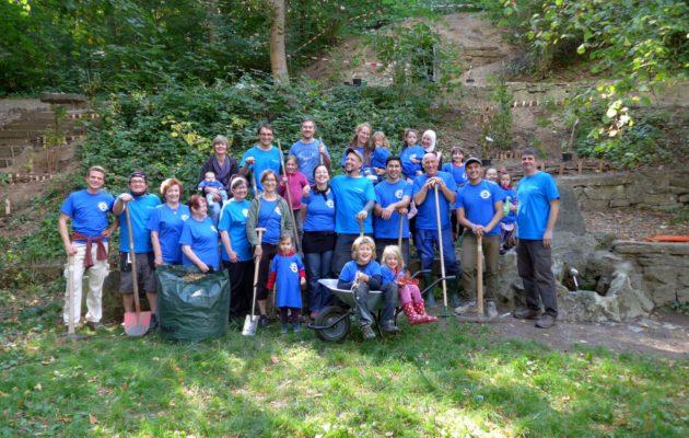Gemeinsam anpacken zum Freiwilligentag in Winzerla