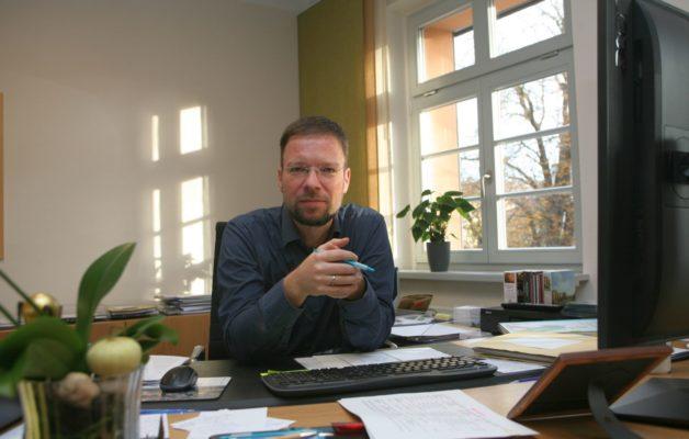 Mit Oberbürgermeister Thomas Nitzsche (FDP) im Gespräch über Winzerla