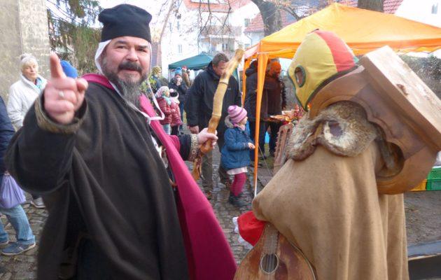 Nachtwächter, Gaukler und Bischof – ein Rückblick zum 10. Nikolausmarkt