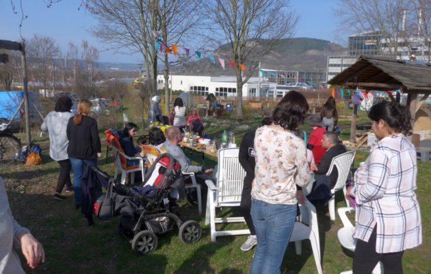 Premiere im Stadtteilgarten: Das Newroz-Fest
