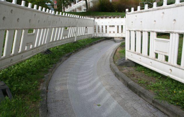 Erneuerungsarbeiten am Wasserlauf begonnen