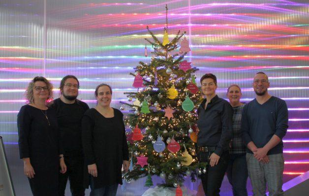 Wunschbaum-Aktion in der JENOPTIK AG
