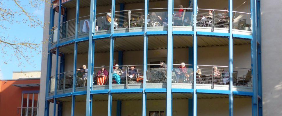 Balkon-Singen