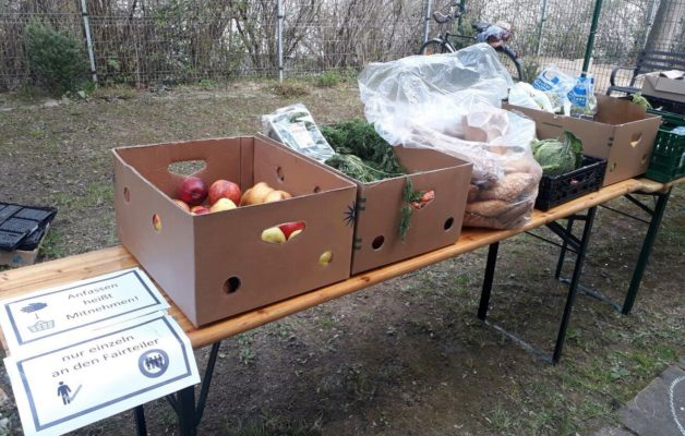 "Initiative ""Foodsharing"" engagiert sich in Winzerla"