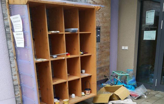 Teilen bringt Freude – Zwei Jahre Tauschregal in Winzerla