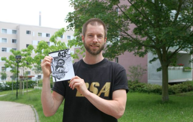 Ben Stewart aus Winzerla gibt ein eigenes Magazin heraus