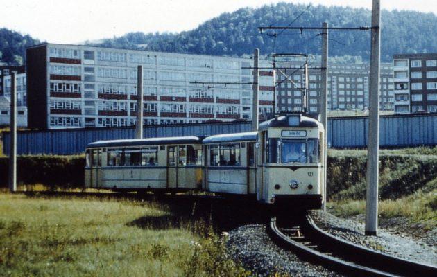 """Die """"Elektrische"""" fährt seit 112 Jahren nach Winzerla"""
