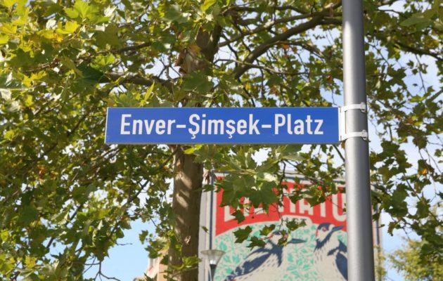 Platz am Damaschkeweg trägt den Namen Enver Şimşek