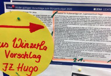 Winzerlaer Projekt setzt sich beim Bürgerbudget durch