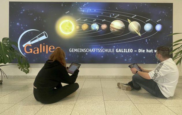 Unerwartete Unterstützung für die Galileoschule