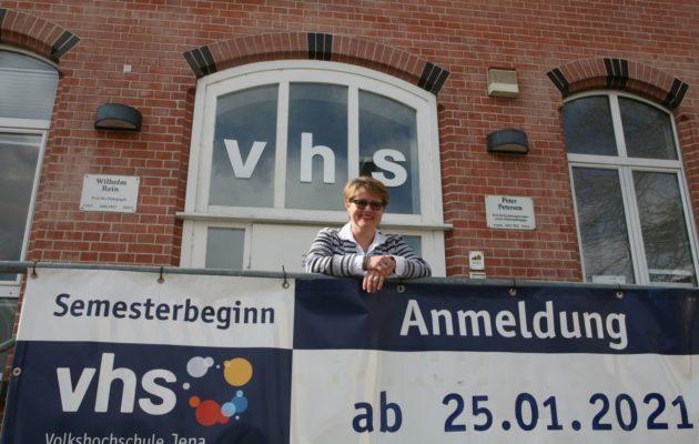 Die Leiterin der Volkshochschule Jena im Gespräch