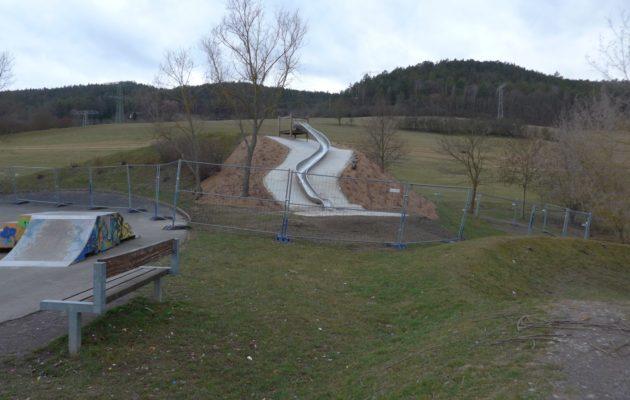 """Spielplatz an der """"Drehscheibe"""" weiterhin nur teilweise nutzbar"""