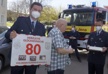 Egon Dummer feierte seinen 80. Geburtstag