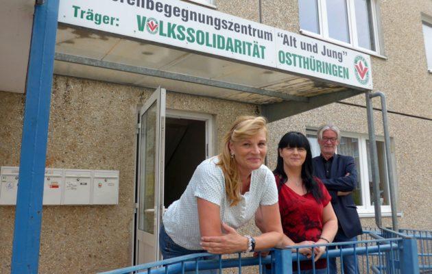 Bonhoeffer Gemeinde und Volkssolidarität bleiben in Winzerla!